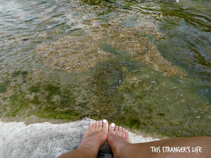 Creek toes