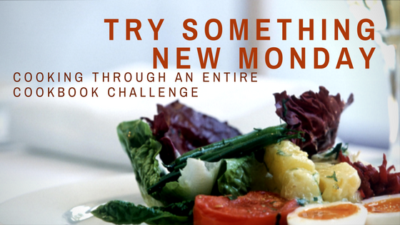try something new Monday